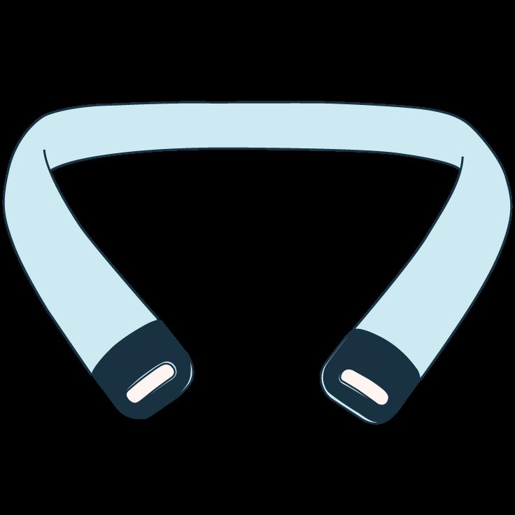 Nesos Prototype Icons Around Neck