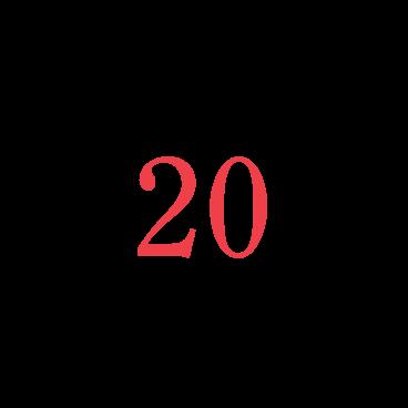 VW Numbers 20